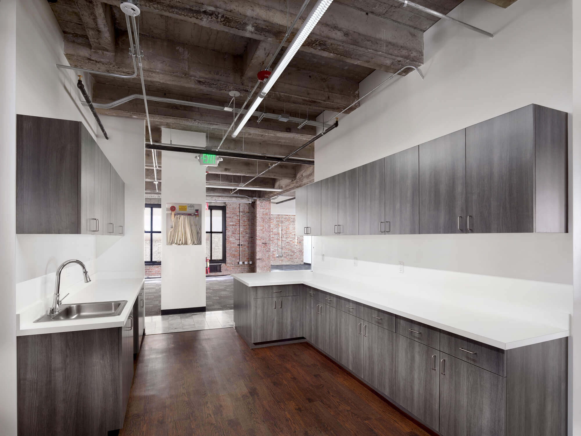 modular kitchen in office