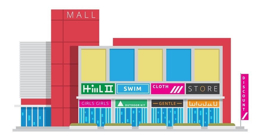 Seismically Retrofit A Shopping Mall