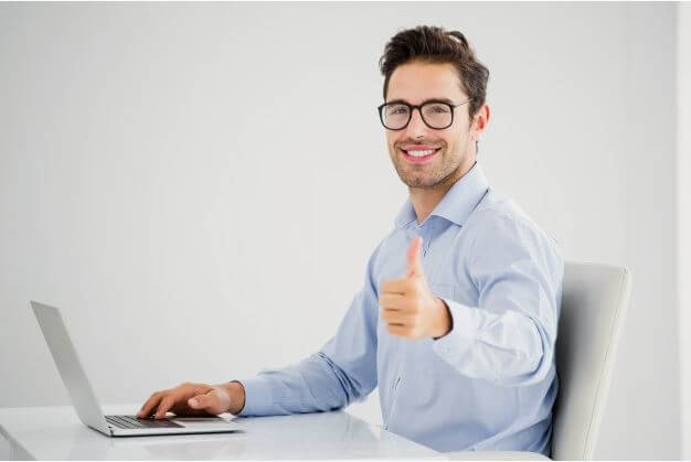 Man happy after knowing the benefits of Being Your Own General Contractor