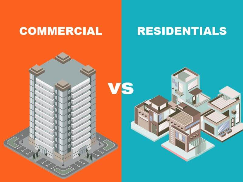 Commercial Vs Residential general contractor