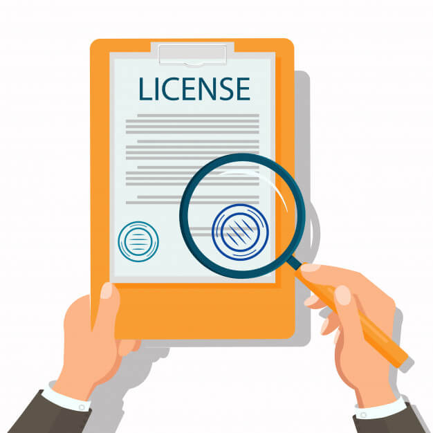 License getting reviewed