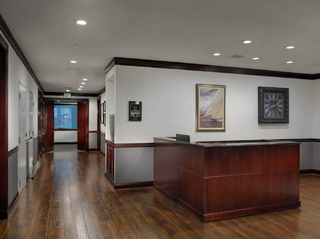 commercial renovation of Bunsow De Mory. Smith & Allison LLP in San Mateo Image - 2