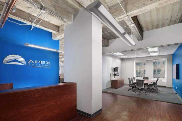 Apex Systems in San Francisco commercial office space renovation