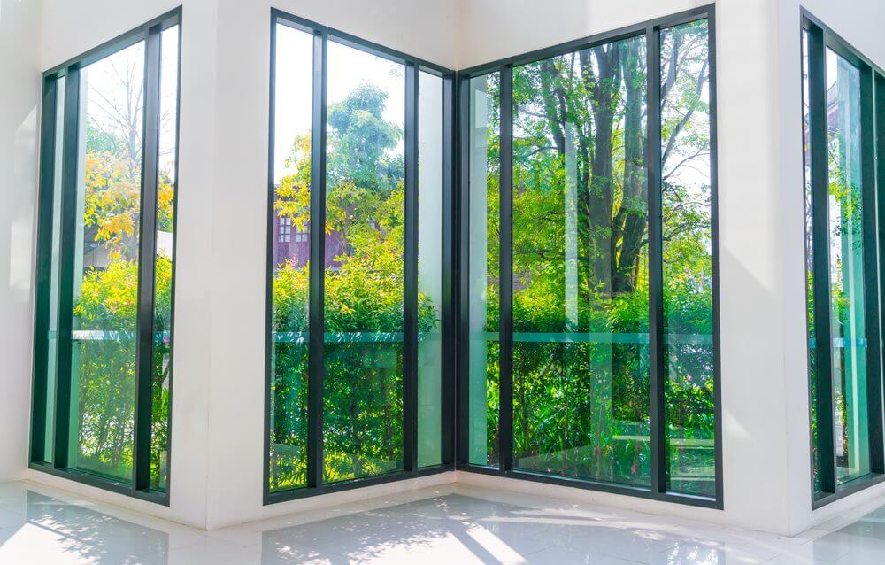 save energy, use energy efficient windows in commercial construction